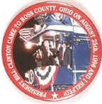 Clinton Ross County, Ohio Train Tour Pin