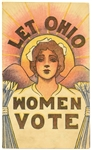 Let Ohio Women Vote Postcard