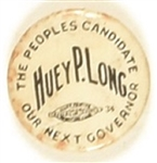 Huey P. Long the People's Candidate
