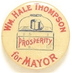 Big Bill Thompson for Mayor of Chicago Dinner Pail