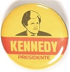 Ted Kennedy for Presidente