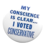 My Conscience is Clear I Voted Conservative