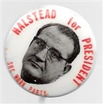 Halstead SWP 1968 Presidential Pin