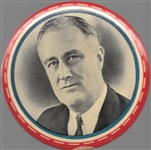 Franklin Roosevelt Large Picture Pin
