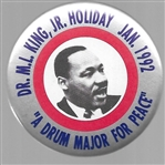 Dr. King Drum Major for Peace