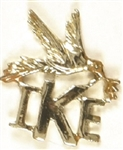 Eisenhower Ike Peace Dove Jewelry Pin