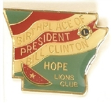 Clinton Hope, Arkansas Clutchback Pin