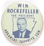 Win Rockefeller Arkansas Favorite Son
