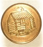 Harrison Log Cabin Clothing Button
