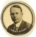 James M. Cox Scarce Celluloid