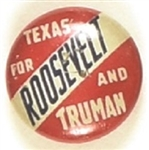 Roosevelt and Truman Texas Litho