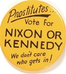 Prostitutes Vote for Nixon or Kennedy