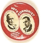 Foster, Gitlow Vote Communist Jugate