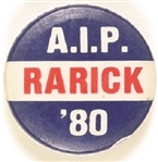 Rarick American Independent Party