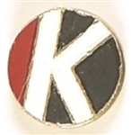 "Robert Kennedy ""K"" Enamel Pin"