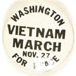 Vietnam March for Peace