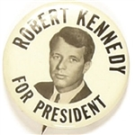 Robert Kennedy Black, White 1968 Celluloid