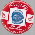 Welcome Astronaut Gordon Cooper