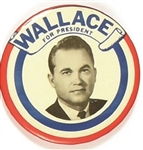 George Wallace for President 1964 Celluloid
