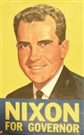 Nixon for Governor Poster
