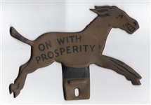 Franklin Roosevelt On With Prosperity License