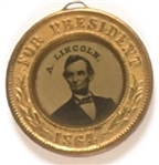 Lincoln, Johnson Exceptional 1864 Ferrotype