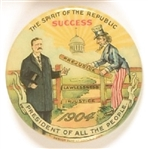 Theodore Roosevelt at the Gate, The Spirit of the Republic Success Uncle Sam Celluloid