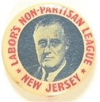 Roosevelt New Jersey Labor Non Partisan League