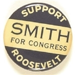 Roosevelt for President, Smith for Congress Connecticut Coattail