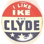 I Like Ike and Clyde Utah Coattail
