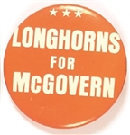 Longhorns for McGovern