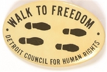Detroit Council for Human Rights Walk to Freedom
