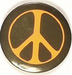 Vietnam War Large Peace Sign Celluloid