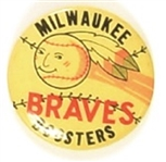 Milwaukee Braves Booster