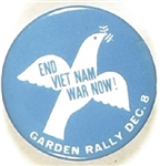 End Vietnam War Now Garden Rally
