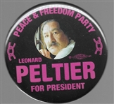 Leonard Peltier Peace and Freedom Party