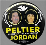 Peltier and Jordan Peace and Freedom Party