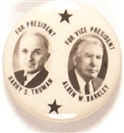 Truman, Barkley Two Stars 1 1/4 Inch Jugate