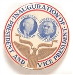 Truman and Barkley 1949 Inaugural Jugate