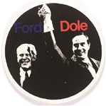 Ford, Dole Scarce 4 Inch Litho Jugate