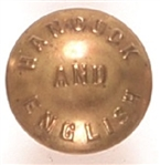 Hancock, English Brass Clothing Button