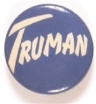 Truman Scarce Celluloid, Unusual Lettering