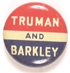 Truman and Barkley RWB Litho
