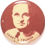 Truman Brown and White Litho