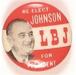 Johnson Re-Elect LBJ