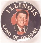Illinois Land of Reagan 1984