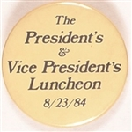 Reagan, Bush 1984 Luncheon Darker Version