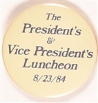 Reagan, Bush 1984 Luncheon Lighter Version