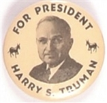 Truman 1 1/4 Inch Donkeys Celluloid