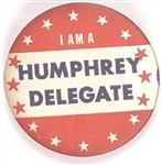 I am a Humphrey Delegate